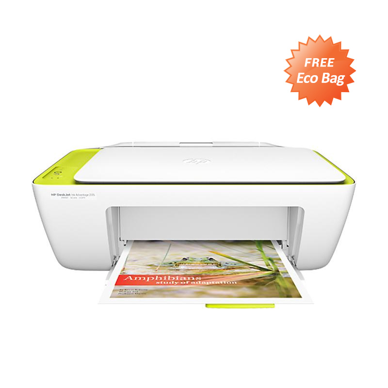 harga HP Deskjet 2135 Multi Function Printer + Free EcoBag Blibli.com