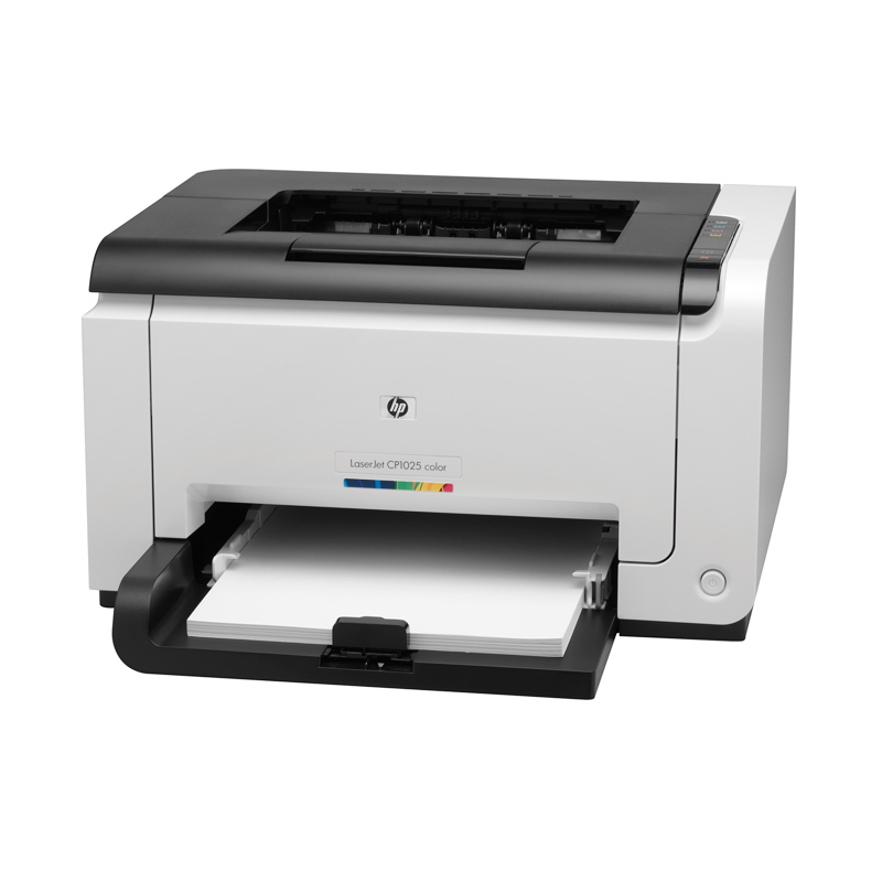 HP Laserjet Pro CP 1025 Color Printer - Putih