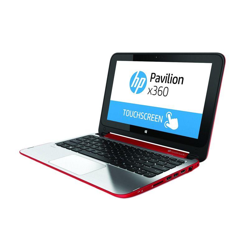 HP Pavilion X360-11-N028TU Red Notebook