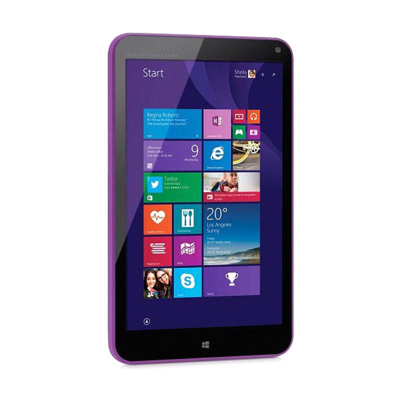 harga HP Stream 8 Smart PC - Purple [8 Inch/Intel Z3735G/Win 8.1/Keyboard BT] + Free Voucher Belanja Rp 200.000 Blibli.com