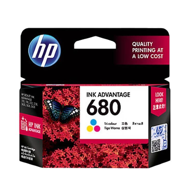 HP 680 Color Original Ink Cartridge - Tricolor
