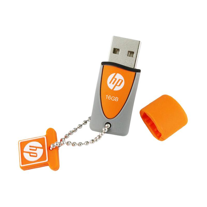 HP v245 Original Flashdisk – Orange [16 GB]