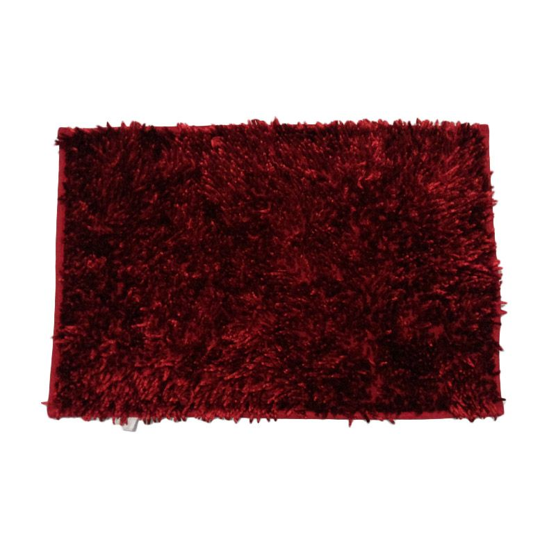 Dinemate Microfiber Light Red Keset [50x70 cm]