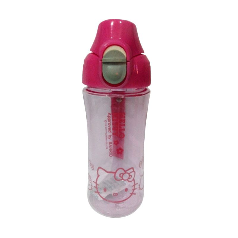 Sanrio Hello Kitty Pink Botol Minum Anak [450 mL]
