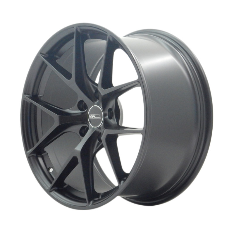 HSR Wheel AG3 JD183 Velg Mobil - Semi Matte Black [ Ring 18x8/9 H5x120 ET40/38 ]