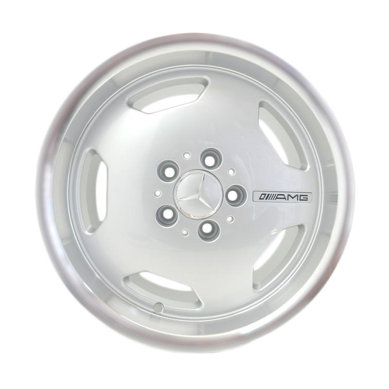 harga HSR Wheel AMG EURO JD176 Silver Machine Lip Velg Mobil [Ring17x8/9 H5x112 ET35/30] Blibli.com