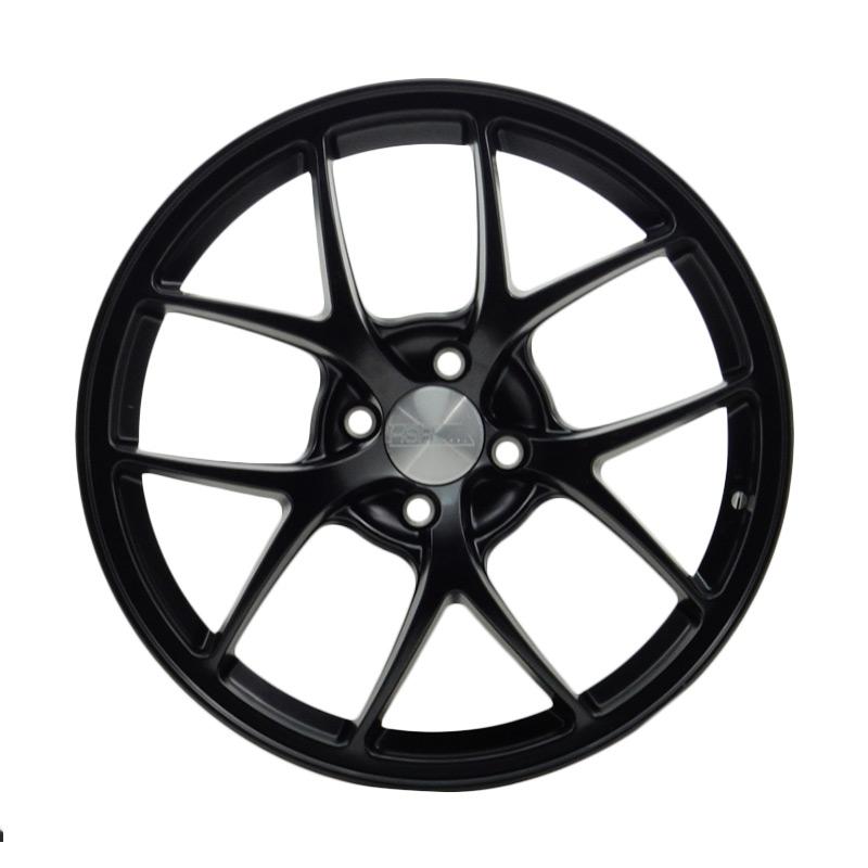 HSR Wheel HSR Wheel BBSF1 1009 SEMI MATTE BLACK(50%)Velg Mobil (RingR17X7 H4X100 ET38)