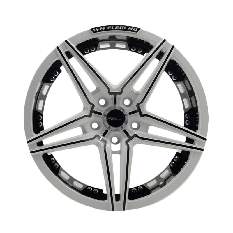 harga HSR Wheel JD269 White/Black Face Velg Mobil [Ring 18x85 H5x114,3 ET40] Blibli.com