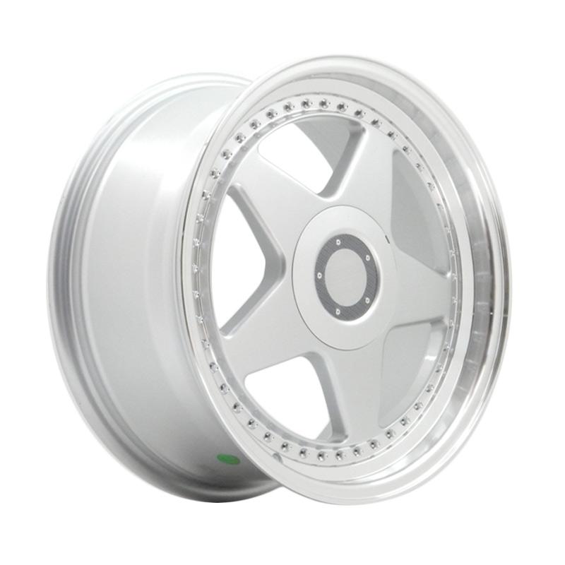 harga HSR Wheel OZ FTR JD08 Silver Machine Lip Velg Mobil [Ring 18X8 H8X100/114,3 ET40] Blibli.com