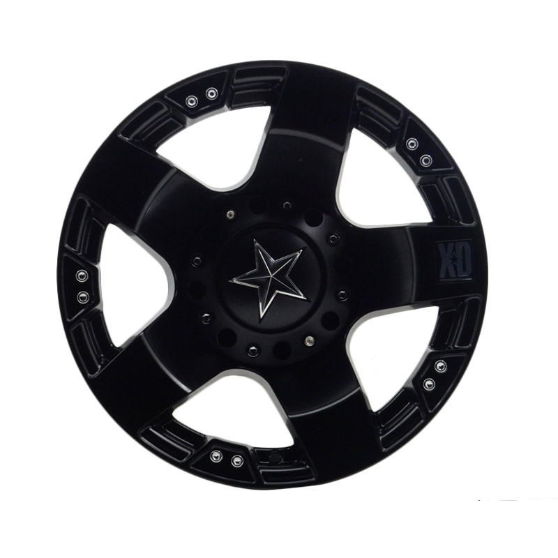 HSR Wheel Rockstar JD5187 Semi Matte Black Velg Mobil [Ring15x85 H5x114,3 ET10]