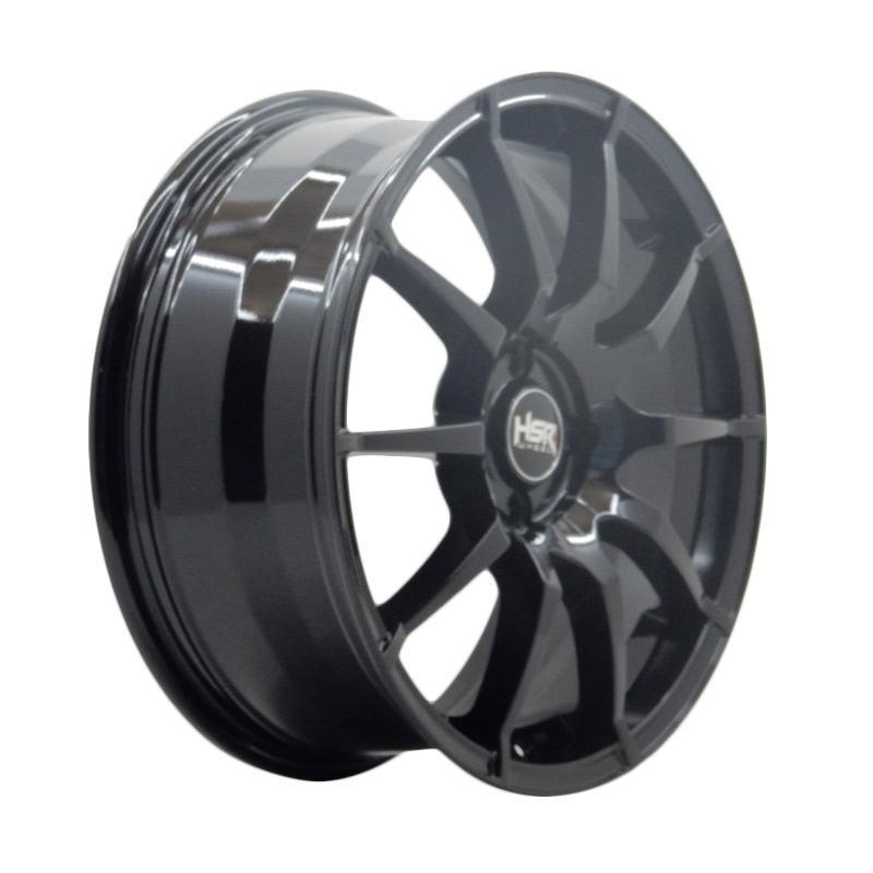 HSR Wheel Sparco JD91 Semi Matte Black Velg Mobil [Ring 15x65 H4x100 ET38]