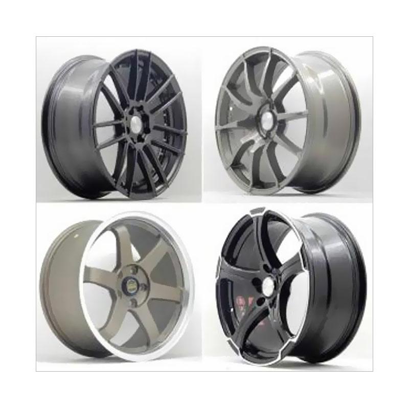 Paket TKB Group HSR Wheel B2000 Ring 10 + Ban [Pasang Di Tempat]