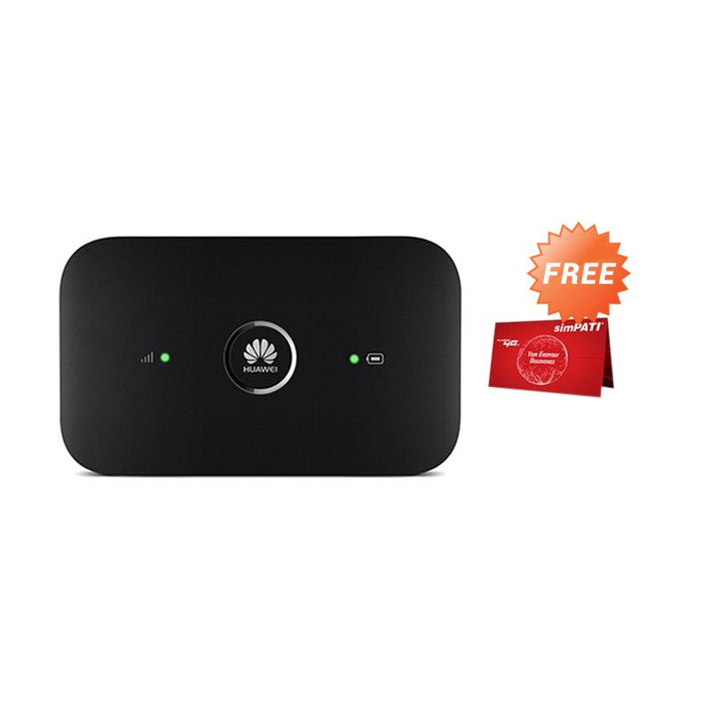 Jual Huawei E5573 Modem Wifi - Hitam Free Telkomsel 14GB Terbaru - Harga Promo November 2019