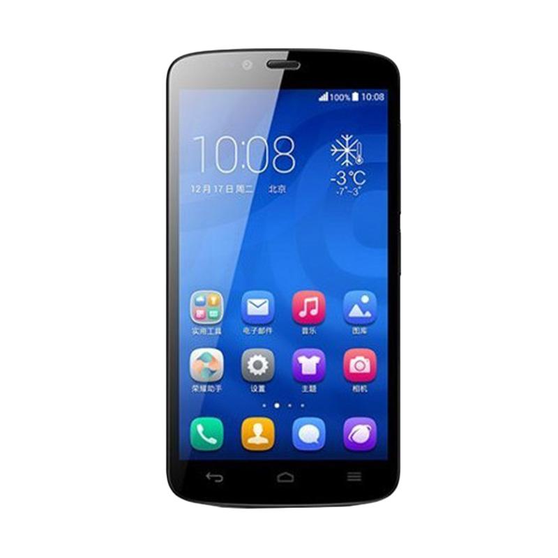 harga Huawei Honor 3C Lite Hitam Smartphone + Cover Case Blibli.com