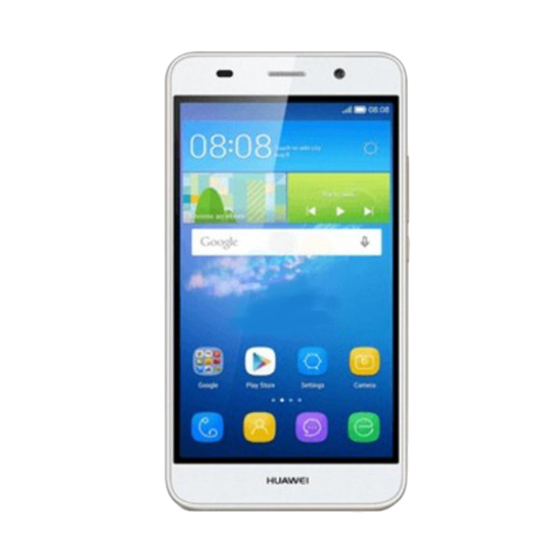 Huawei Y6 4G SCL-L21 Smartphone - Putih [ 8 GB]