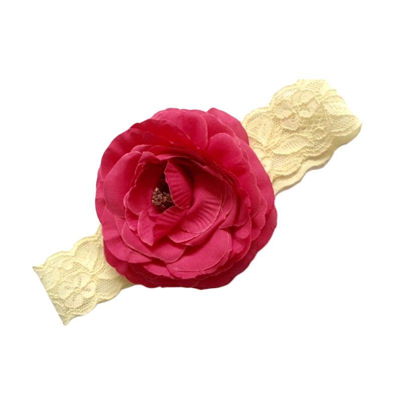 Hugme Tite Pink Flower Headband