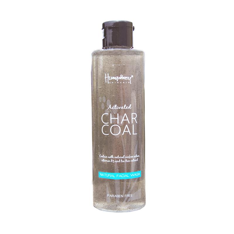 Humphrey Skin Care Activated Charcoal Natural Facial Wash [200 mL]