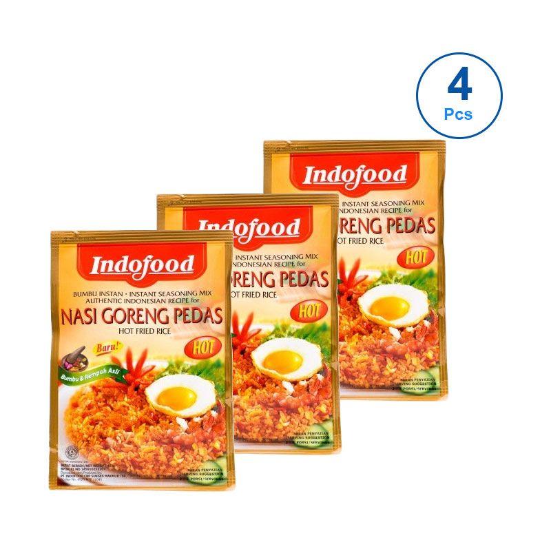 Indofood Nasi Goreng Pedas Bumbu Masak [45 gram/4 Pcs]