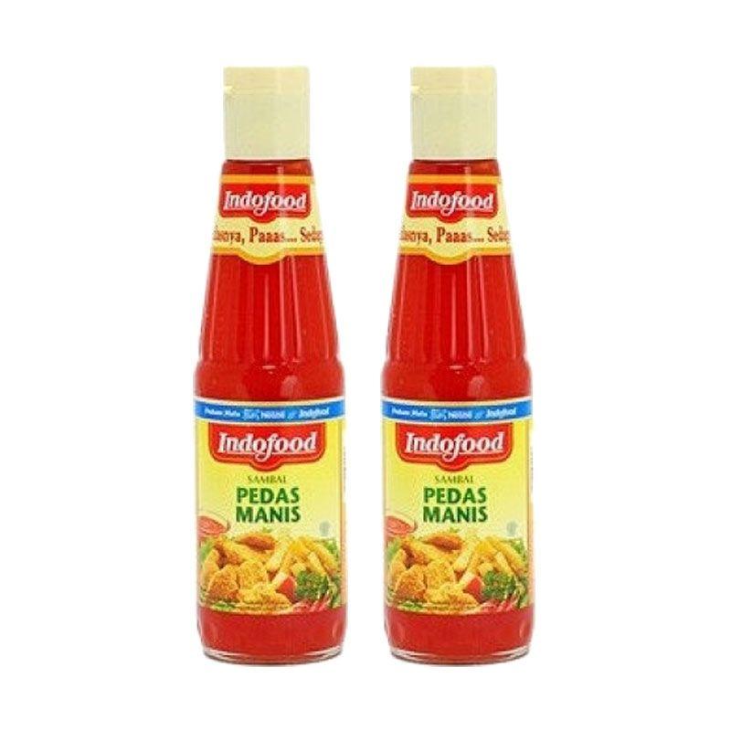 Indofood Sambal Pedas Manis Bumbu Masak [340 mL/2 Packs]