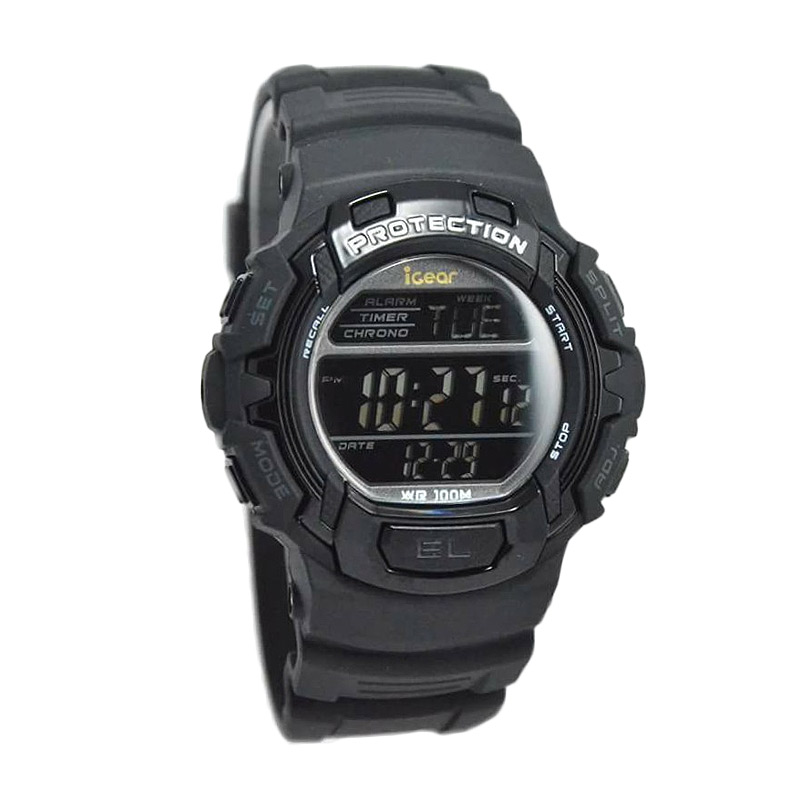 i29 black Jam Tangan Pria