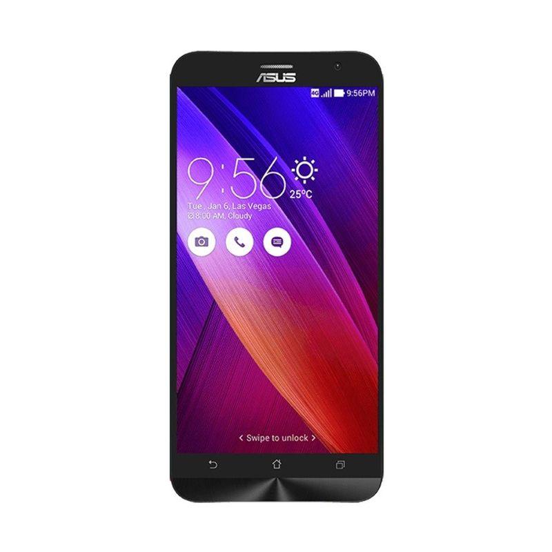 Asus Zenfone 2 ZE550ML Red Smartphone [RAM 2 GB/ROM 16 GB/Resmi]