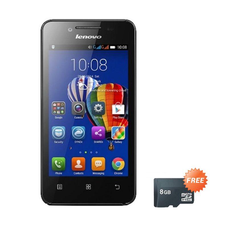 Lenovo S660 Titanium Smartphone [RAM 1 GB/ROM 8 GB] + Micro SD 8 GB