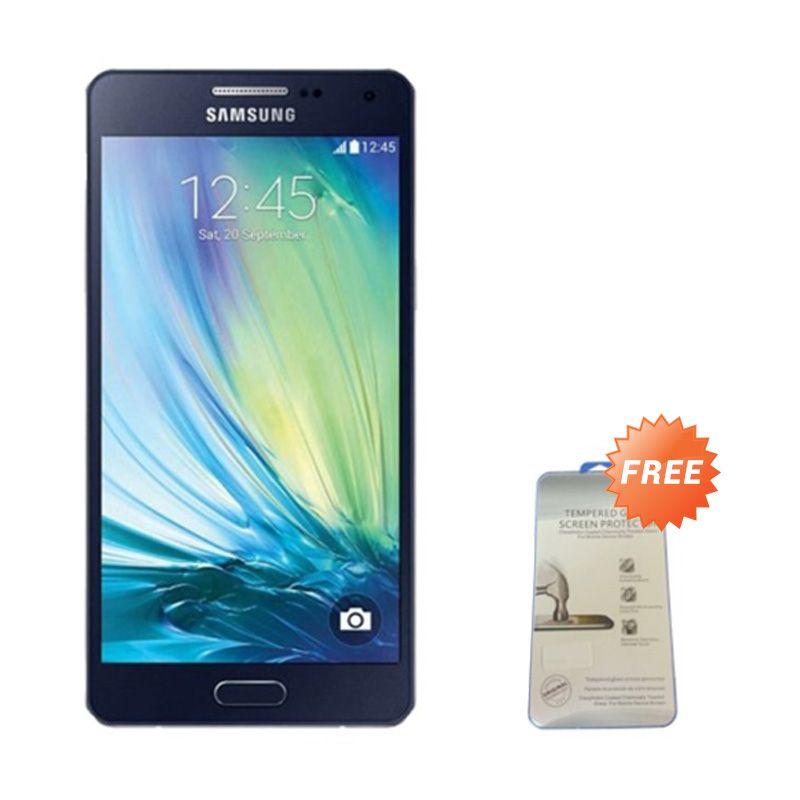 Samsung Galaxy J5 Hitam Smartphone [RAM 1.5 GB/ROM 8 GB/Garansi Resmi] + Tempered Glass