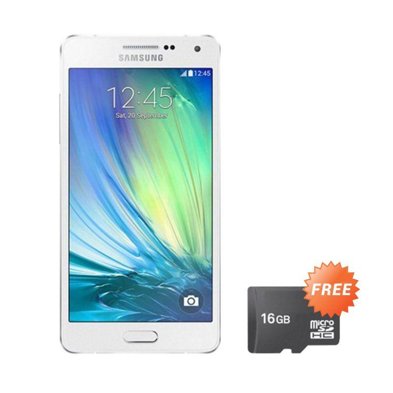 Samsung Galaxy J5 Putih Smartphone [1.5 GB/ 8 GB/Garansi Resmi] + Micro SD 16 GB