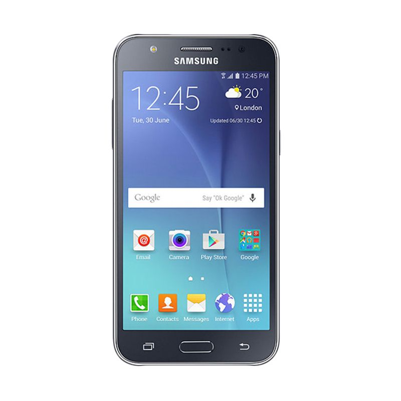 Samsung Galaxy J7 SM-J700 Hitam Smartphone [RAM 1.5 GB/16 GB]