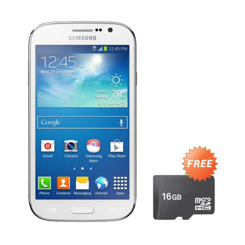 Samsung Galaxy V Plus Putih Smartphone [RAM 512 MB/ROM 4 GB/Garansi Resmi] + Memory Card