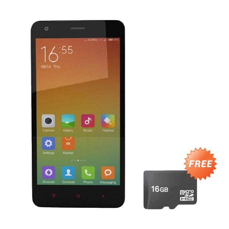 Xiaomi Redmi 2 Putih Smartphone [RAM 1 GB/8 GB] + Micro SD 16 GB