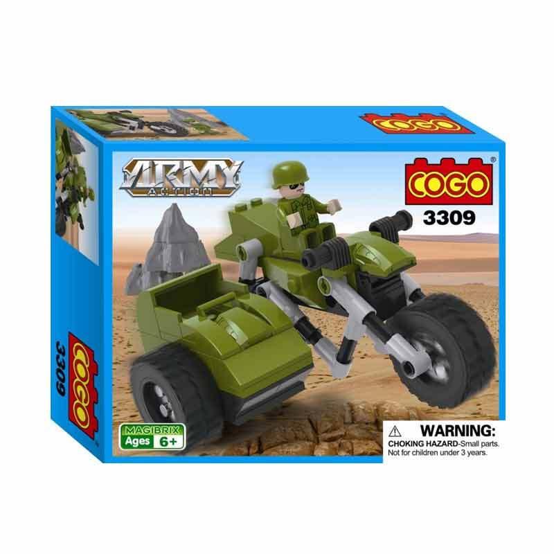 COGO Army - Sidecar Motorcycle