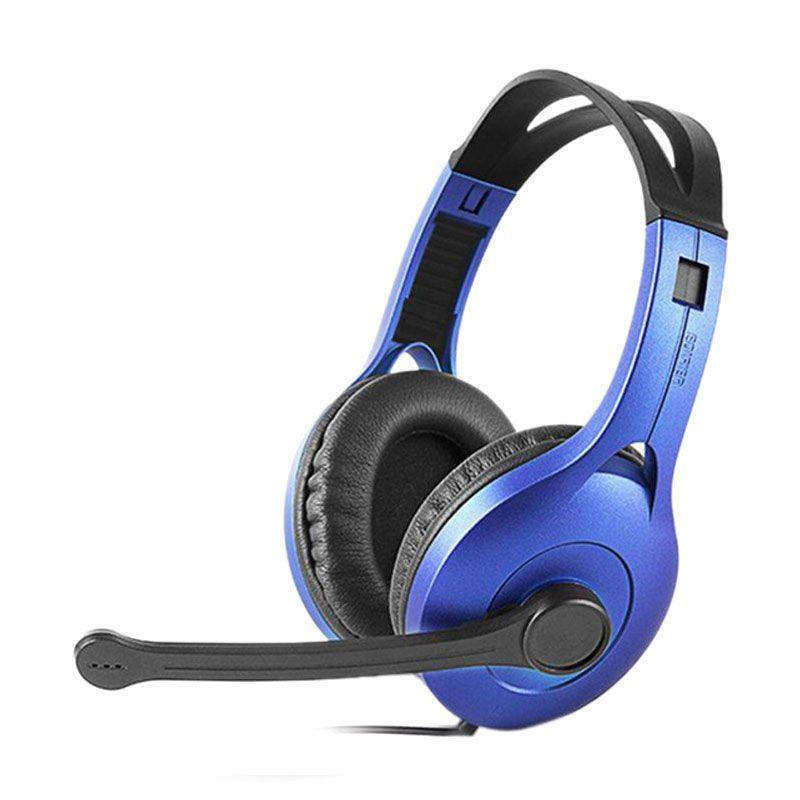 Headset Edifier Communicator K800 - Biru