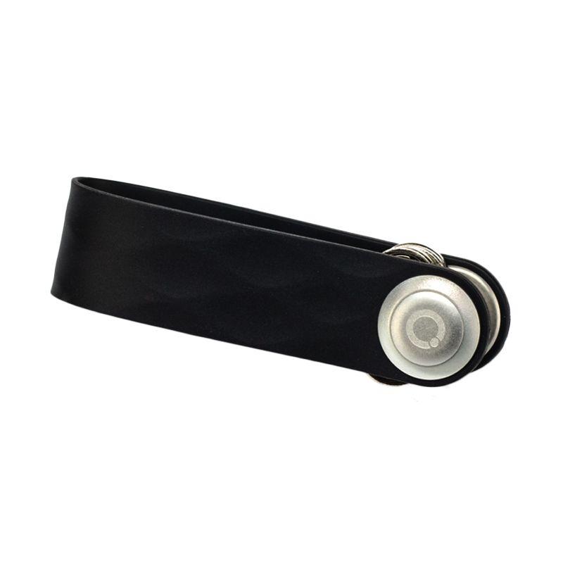Orbitkey Active Elastomer Black Gantungan Kunci