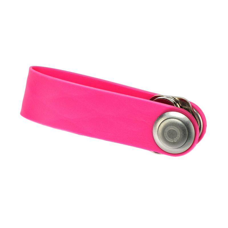 Orbitkey Active Elastomer Pink Gantungan Kunci