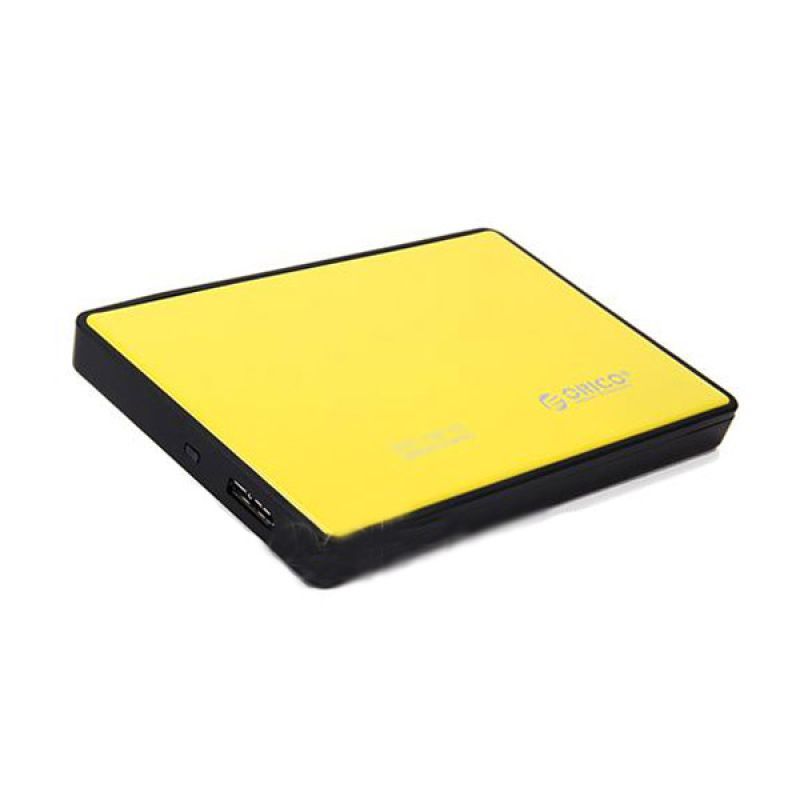 ORICO 2588US3 Kuning Hard Disk Enclosure [USB 3.0/2.5/HDD/SSD]
