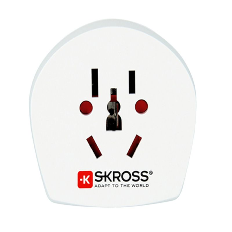 SKROSS World to UK Putih Travel Adaptor