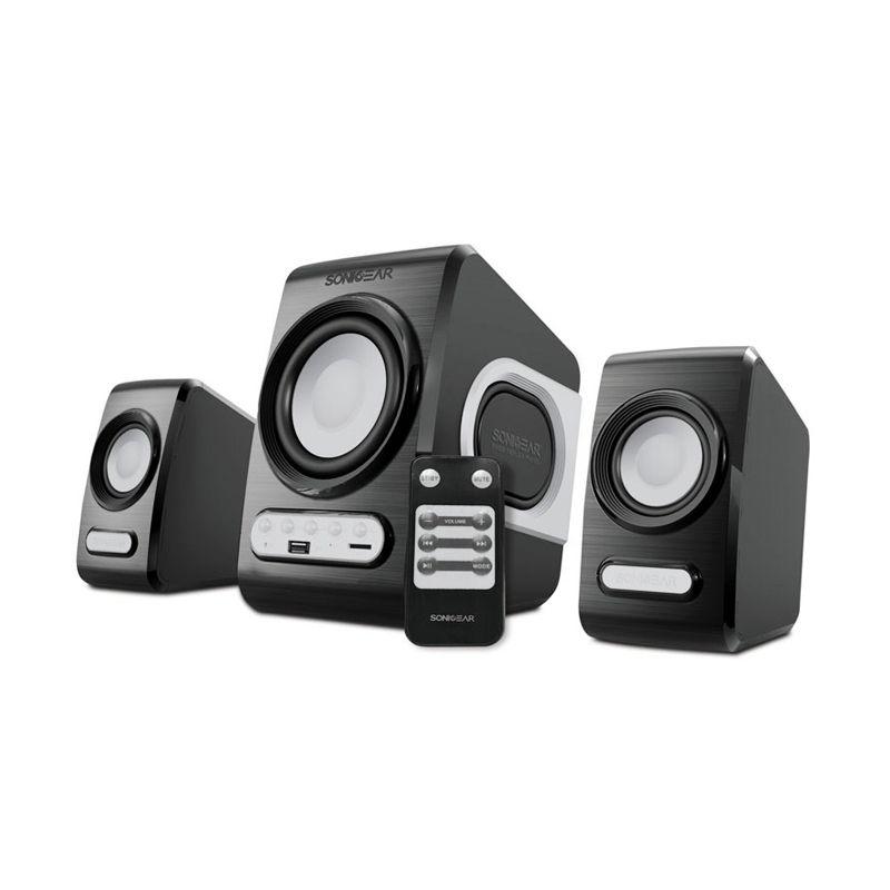 Sonicgear Quatro V Grey Speaker 2.1