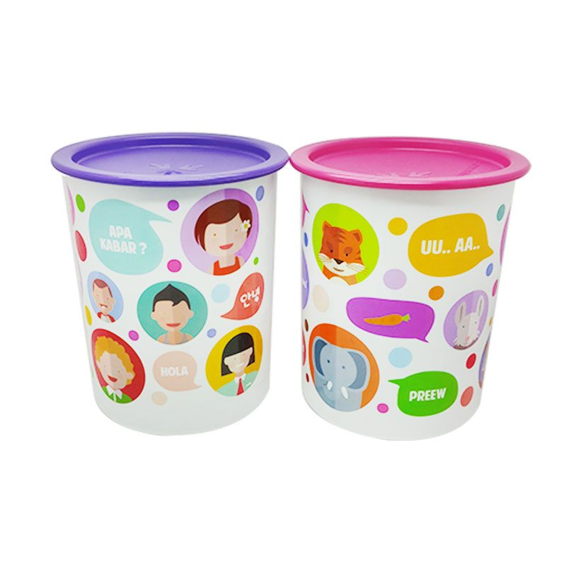 Tupperware Bubble Canister Toples [2 Pcs]