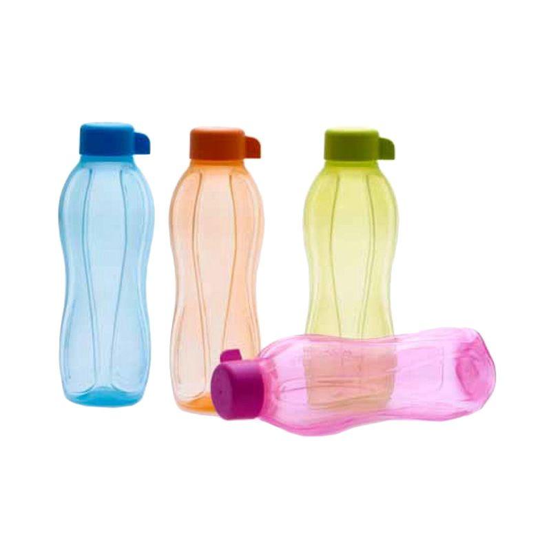 Tupperware Eco Multicolor Botol Minum [500 mL/4 Pcs]