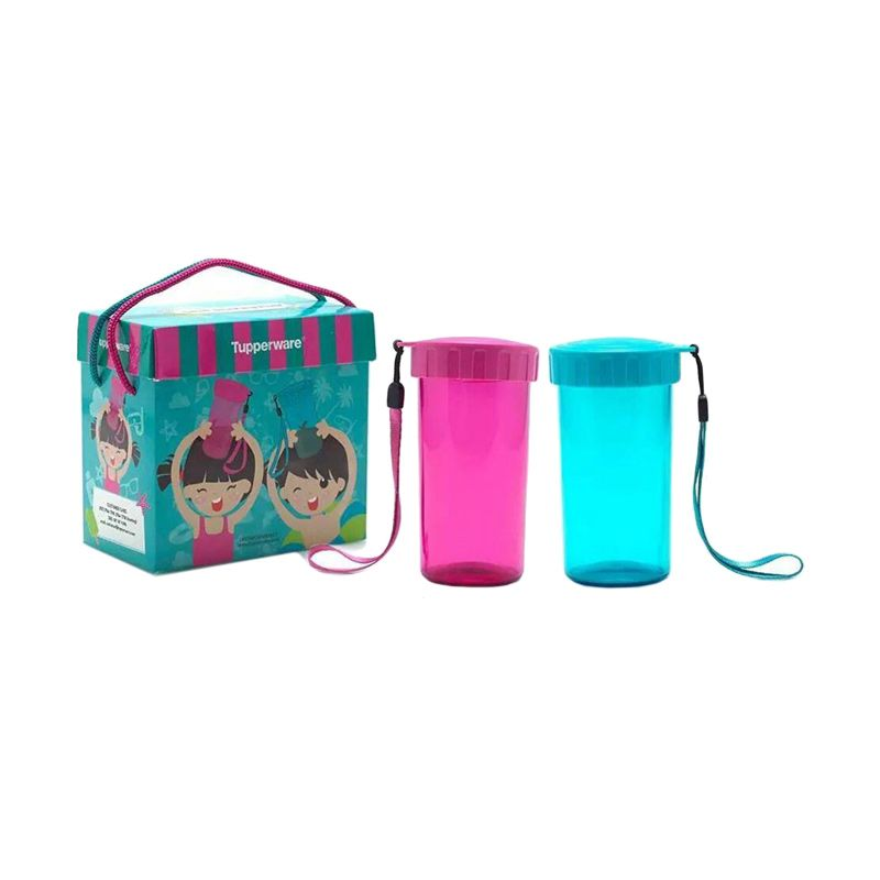 Tupperware Small Drinking Flask Botol Minum [2 Pcs]