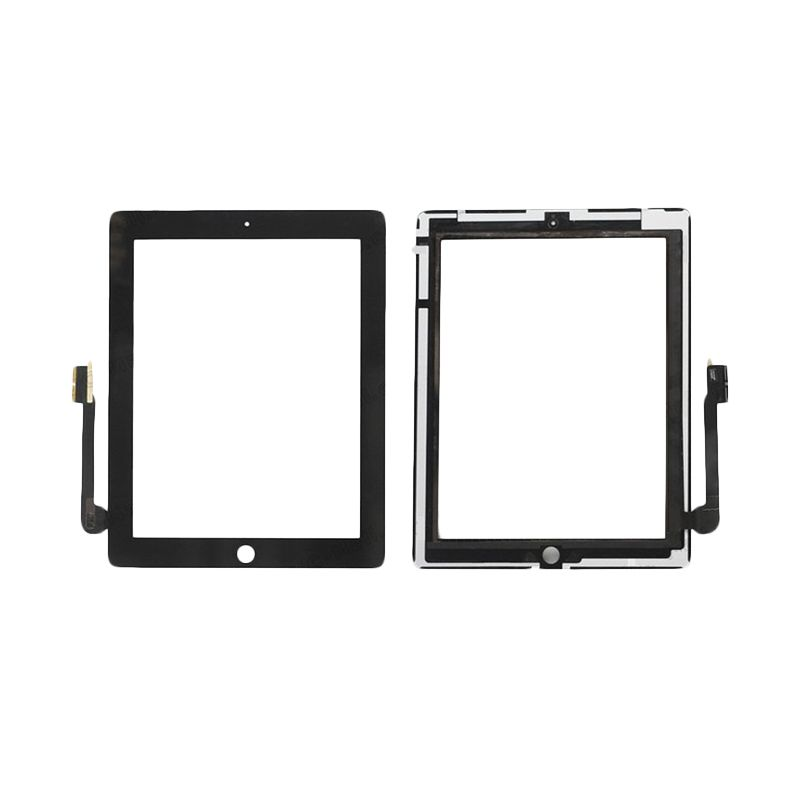 Apple Hitam Original Display Touch Screen for iPad 3 Retina