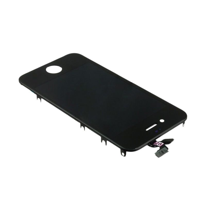 harga Apple  Hitam Spare Part LCD dan Touch Screen for iPhone 4 Blibli.com