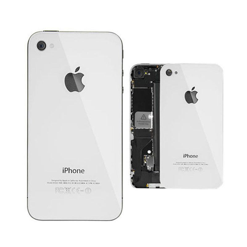 Apple White Back Genuine Replacement Part for iPhone 4S