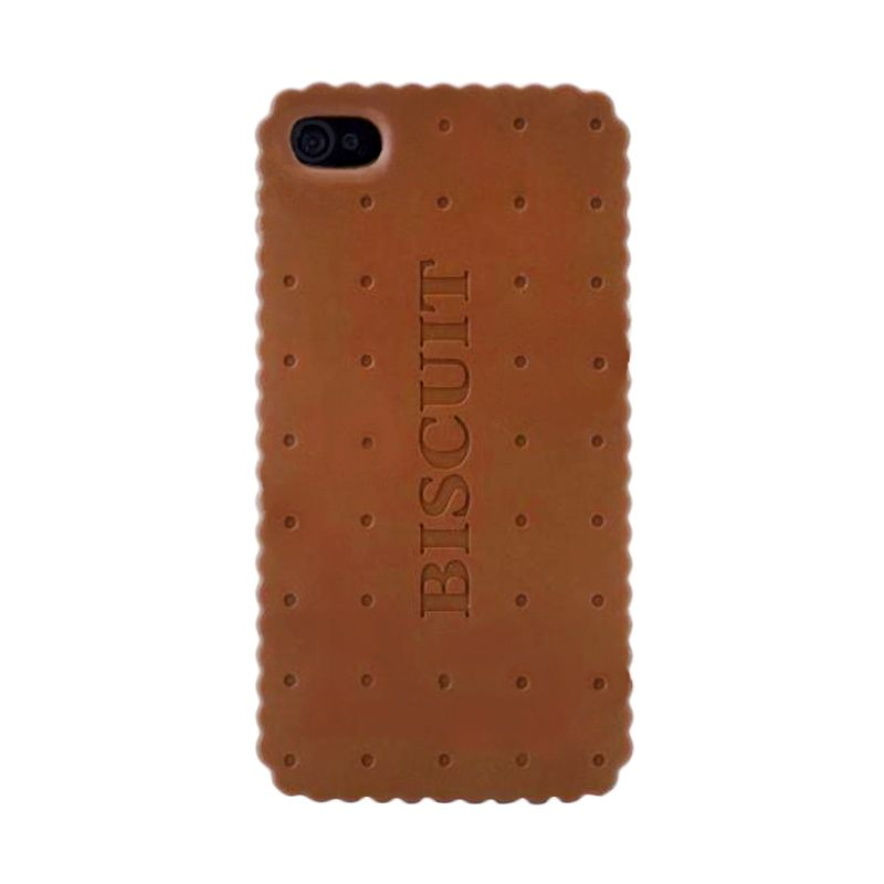 iBuy Biscuit Chocolate 3D Coklat Casing for Apple iPhone 5 or 5S
