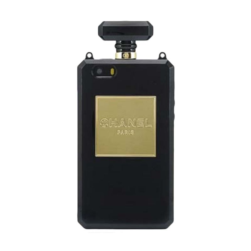 iBuy Elegant Perfume Hitam Casing for iPhone 4 or 4S
