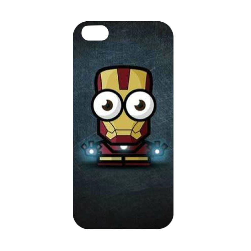 iBuy Iron Man Big Eyes Cute Iron Man Despicable me Casing for iPhone 5 or 5s