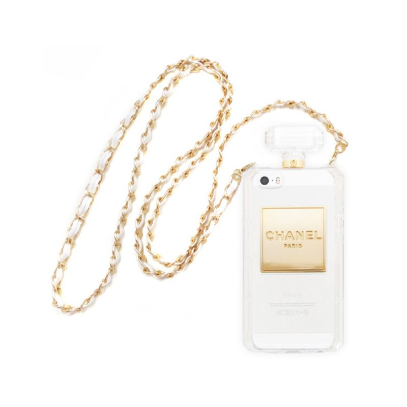 iBuy Perfume White Clear Casing for iPhone 5