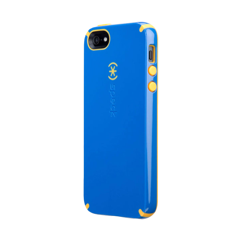 iBuy Speck CandyShell Casing for iPhone 5/5S/SE - Blue Yellow