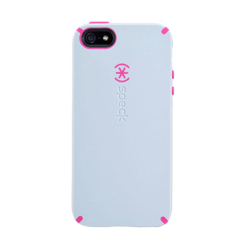 iBuy Speck CandyShell Casing for iPhone 5/5S/SE - Grey Magenta